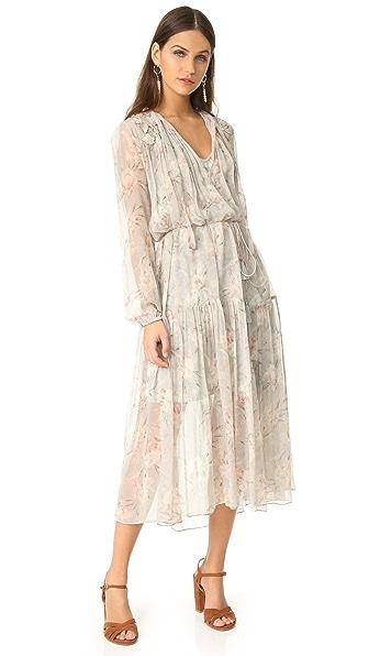 Zimmermann Stranded Garland Dress - Iris Floral