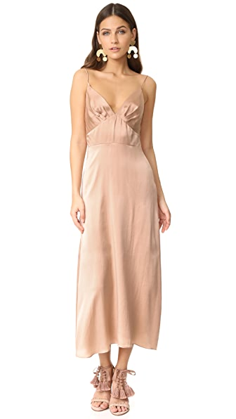 Zimmermann Sueded Tuck Dress