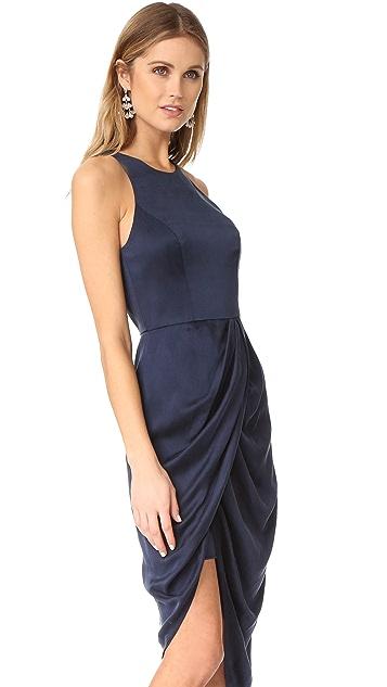Zimmermann Sueded Drape Dress