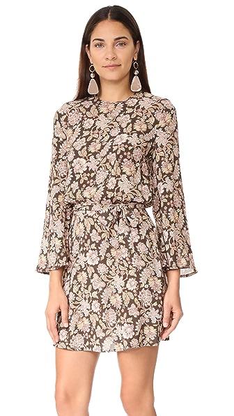 Фото Zimmermann Расклешенное платье Bowerbird. Купить с доставкой