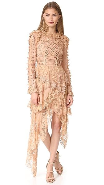 Zimmermann Bowerbird Romance Mini Dress