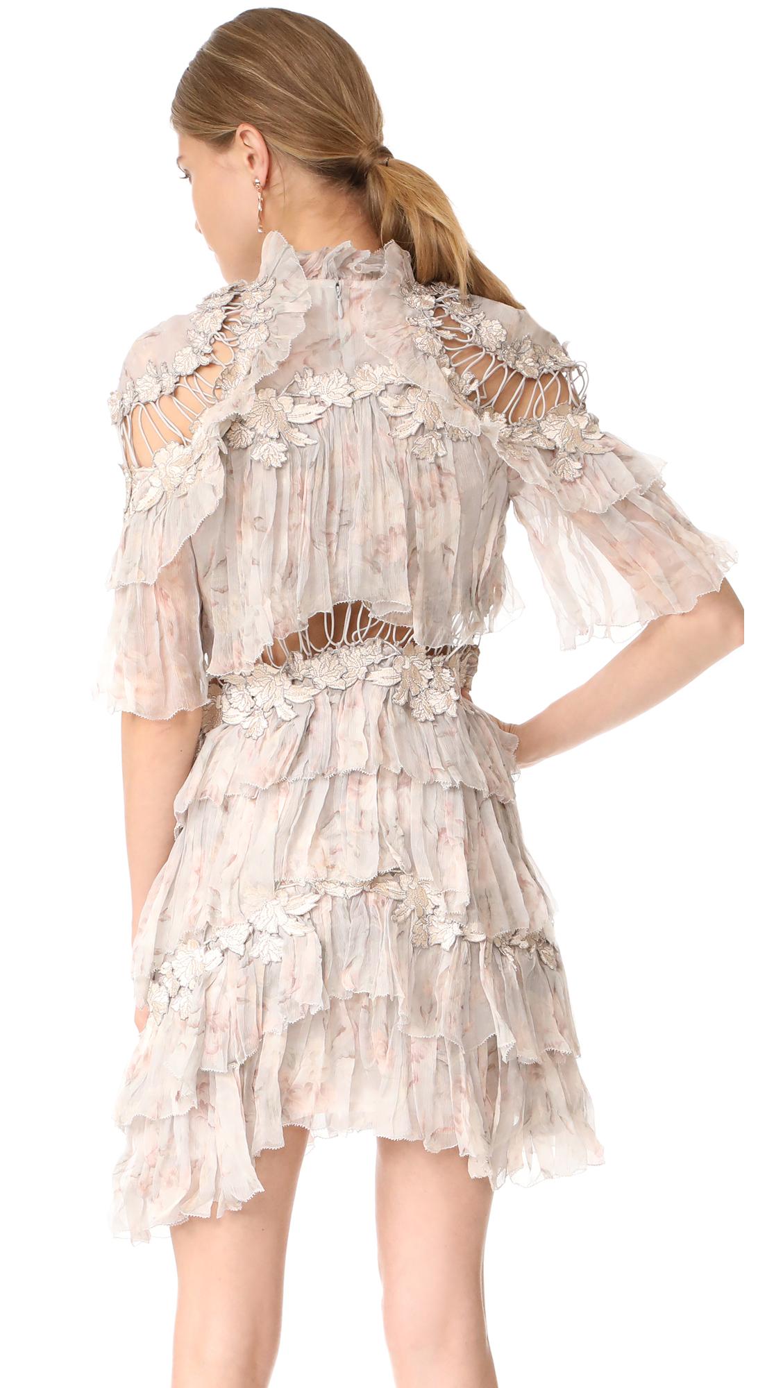4f3400fb4908 Zimmermann Stranded Tier Mini Dress | SHOPBOP