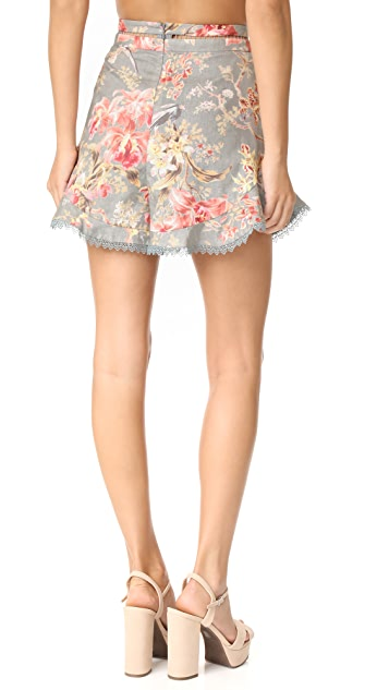 Zimmermann Mercer Flutter Frill Short