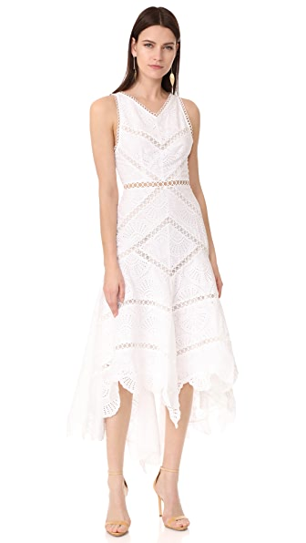 Zimmermann Mercer Fan Dress - Ivory