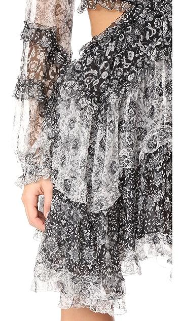 Zimmermann Divinity Ruffle Dress