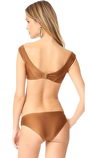 Zimmermann Tulsi Off Shoulder Bikini Set