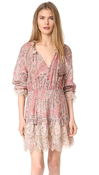 Zimmermann Tulsi Paisley Mini Dress