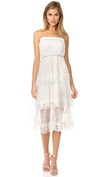 Zimmermann Meridian Circle Lace Dress - Ivory