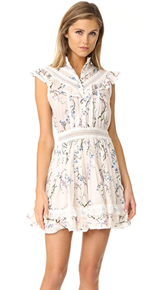 Zimmermann Paradiso Lilac Flutter Dress