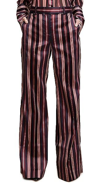 Zimmermann Folly Uniform Pants In Stripe