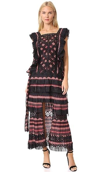 Zimmermann Folly Dapper Dress In Stripe