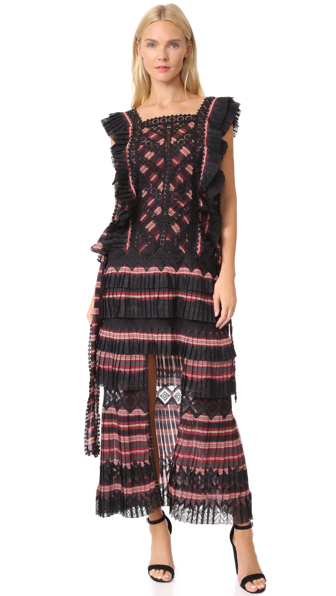 Zimmermann Folly Dapper Dress - Stripe