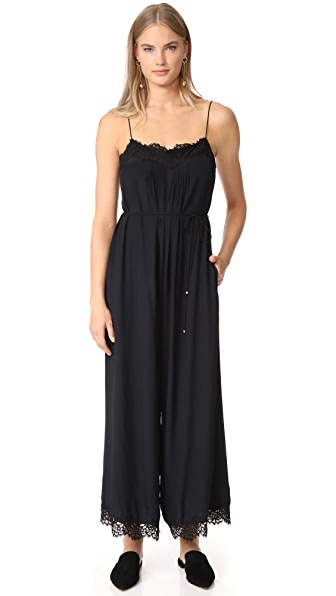 Zimmermann Lace Jumpsuit - Black