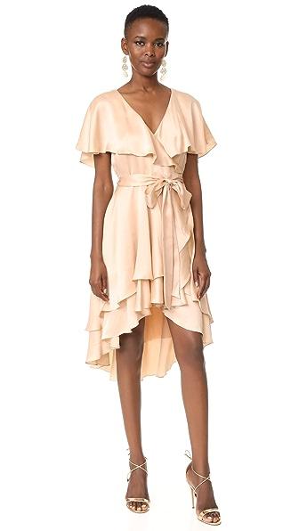 Zimmermann Wrap Dress - Peach