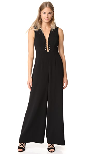 Zimmermann Baton Jumpsuit In Black