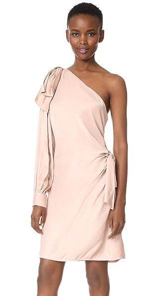 Zimmermann Bow Mini Dress - Blush