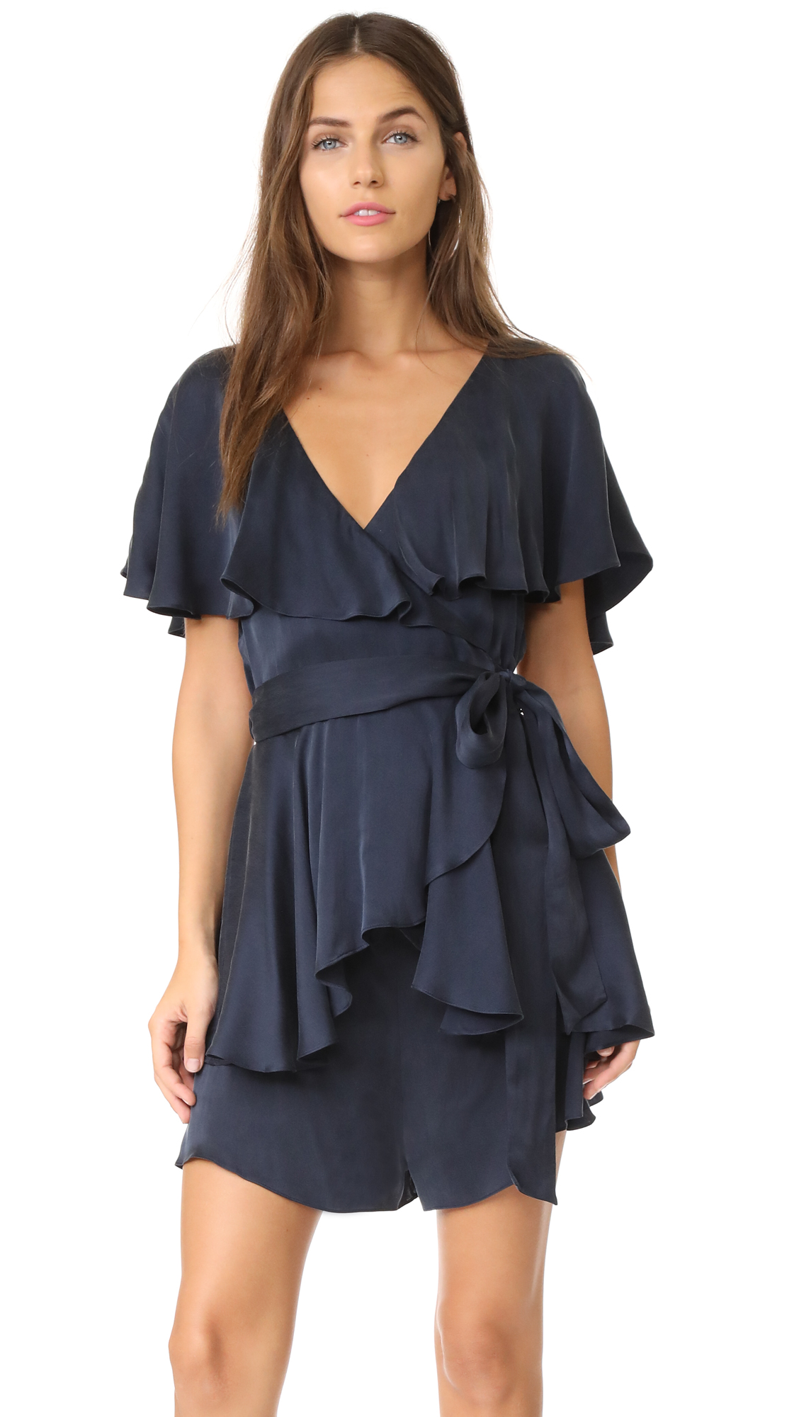 Zimmermann Wrap Romper