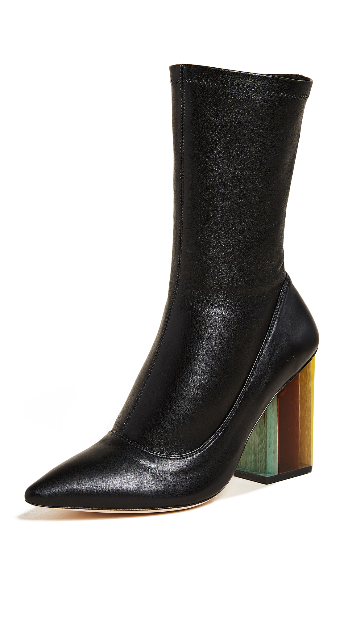 Zimmermann Stretch Ankle Boots - Black