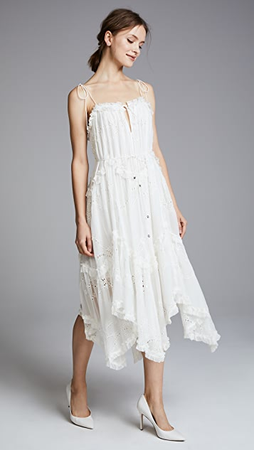 Zimmermann Prima Bow Floating Dress
