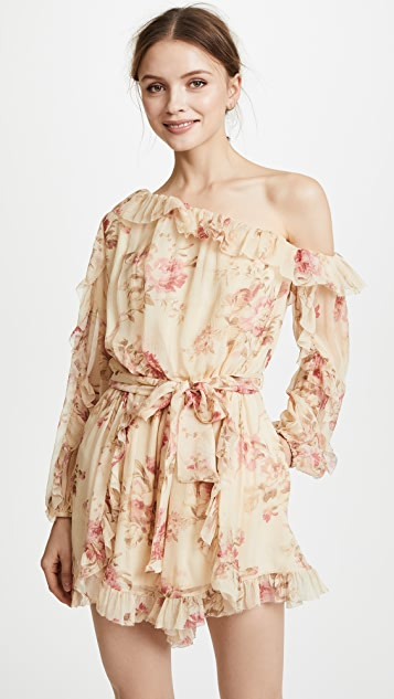 Zimmermann Corsair Whimsy Romper