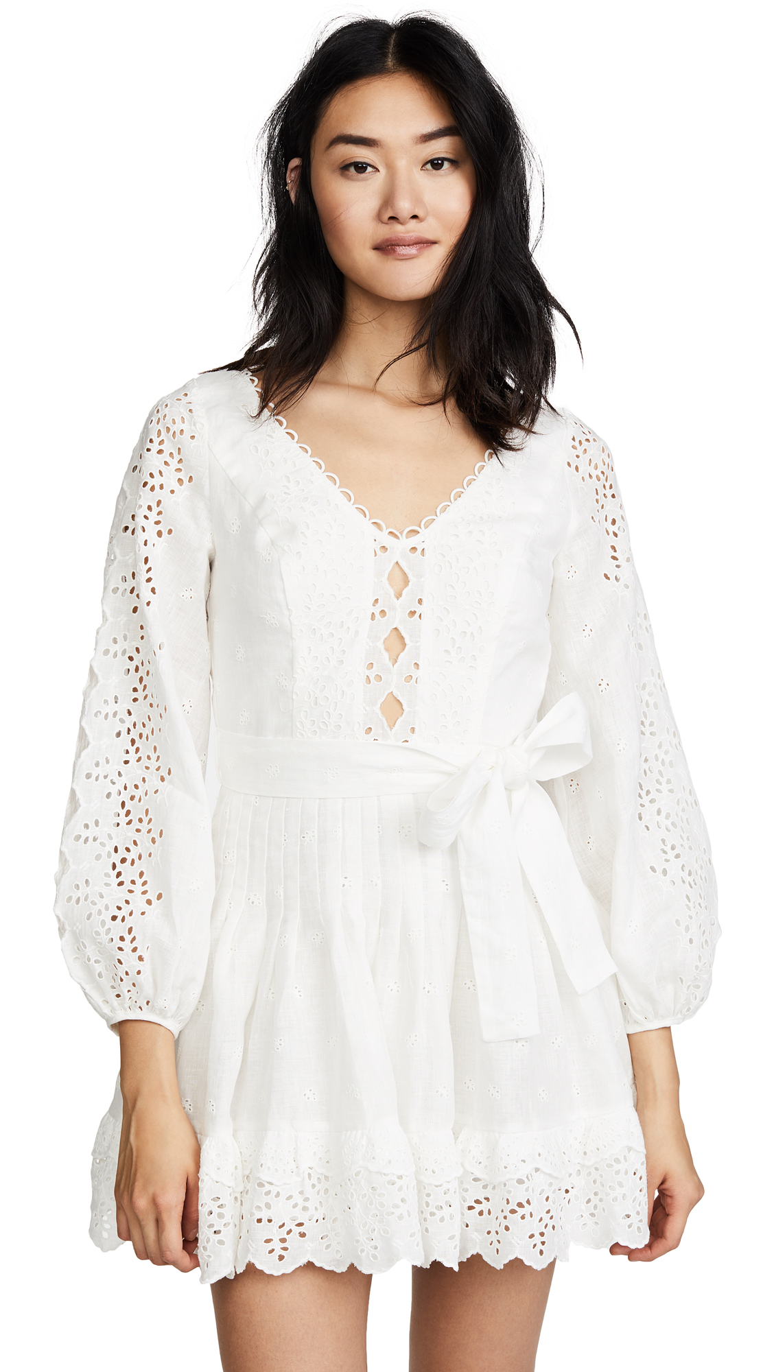 Zimmermann Helm Eyelet Vine Dress