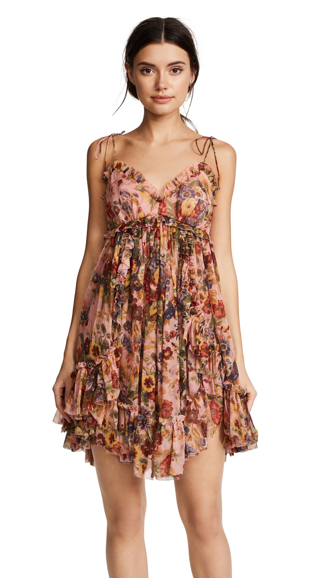 04bc318b2e9d Zimmermann Lovelorn Frill Mini Dress | SHOPBOP