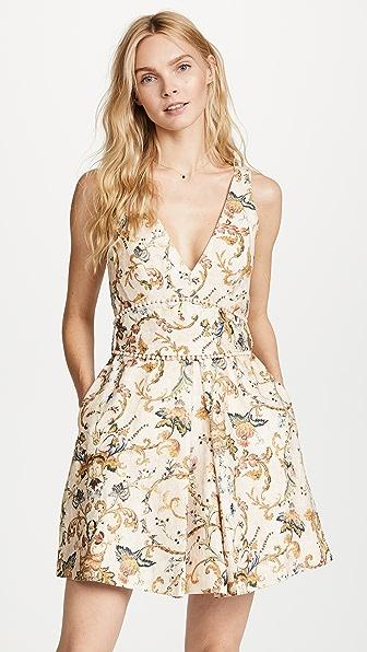 Zimmermann Свободное платье Painted Heart