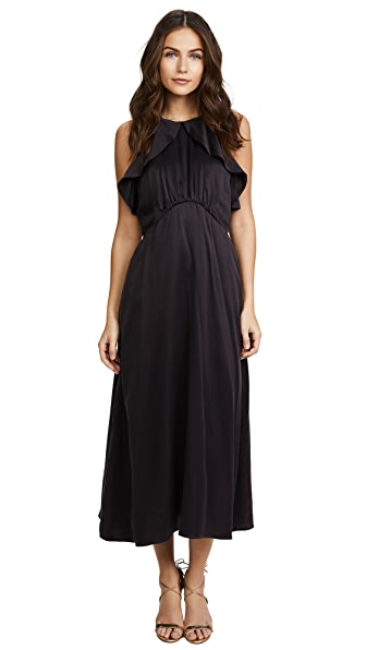 Zimmermann Ruffle Midi Dress