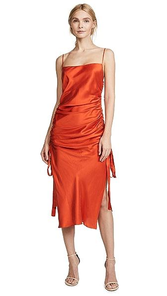Zimmermann Ruche Slip Dress