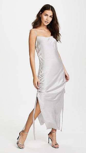 Zimmermann Платье-комбинация со сборками