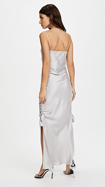 Zimmermann Ruche Slip Dress