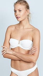 Zimmermann Separates Ribbed Underwire Bikini Top