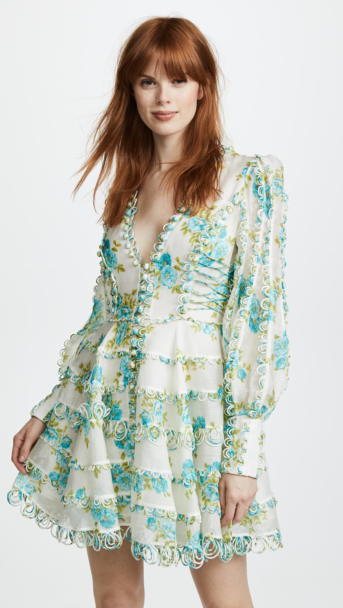 a48204fdb48c Zimmermann White Wave Honeymooners Mini Dress | SHOPBOP