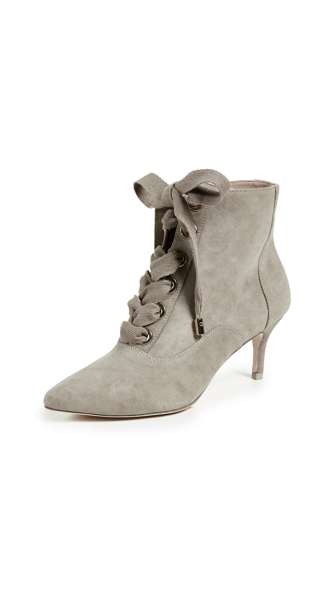 Zimmermann Lace Up Ankle Booties