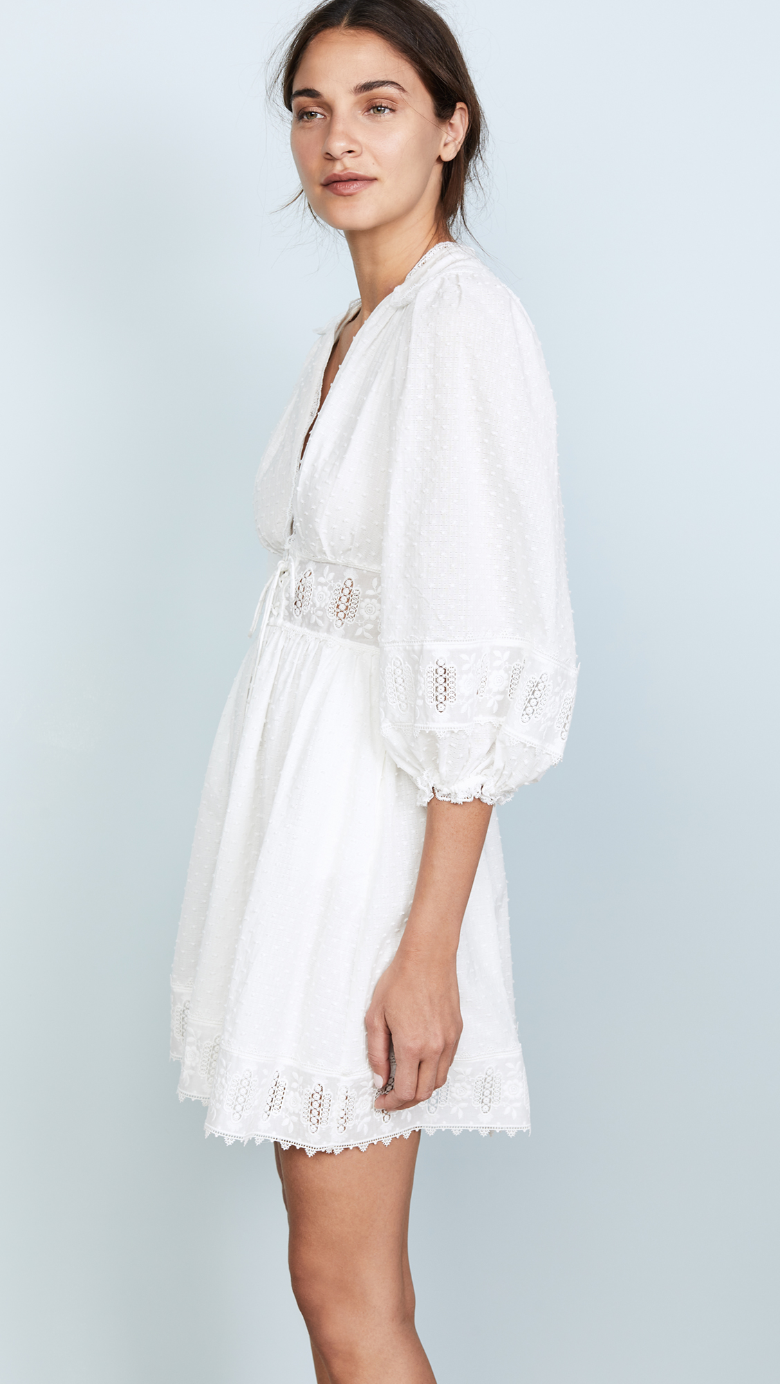 d3841c5fd05 Zimmermann Iris Corset Waist Dress