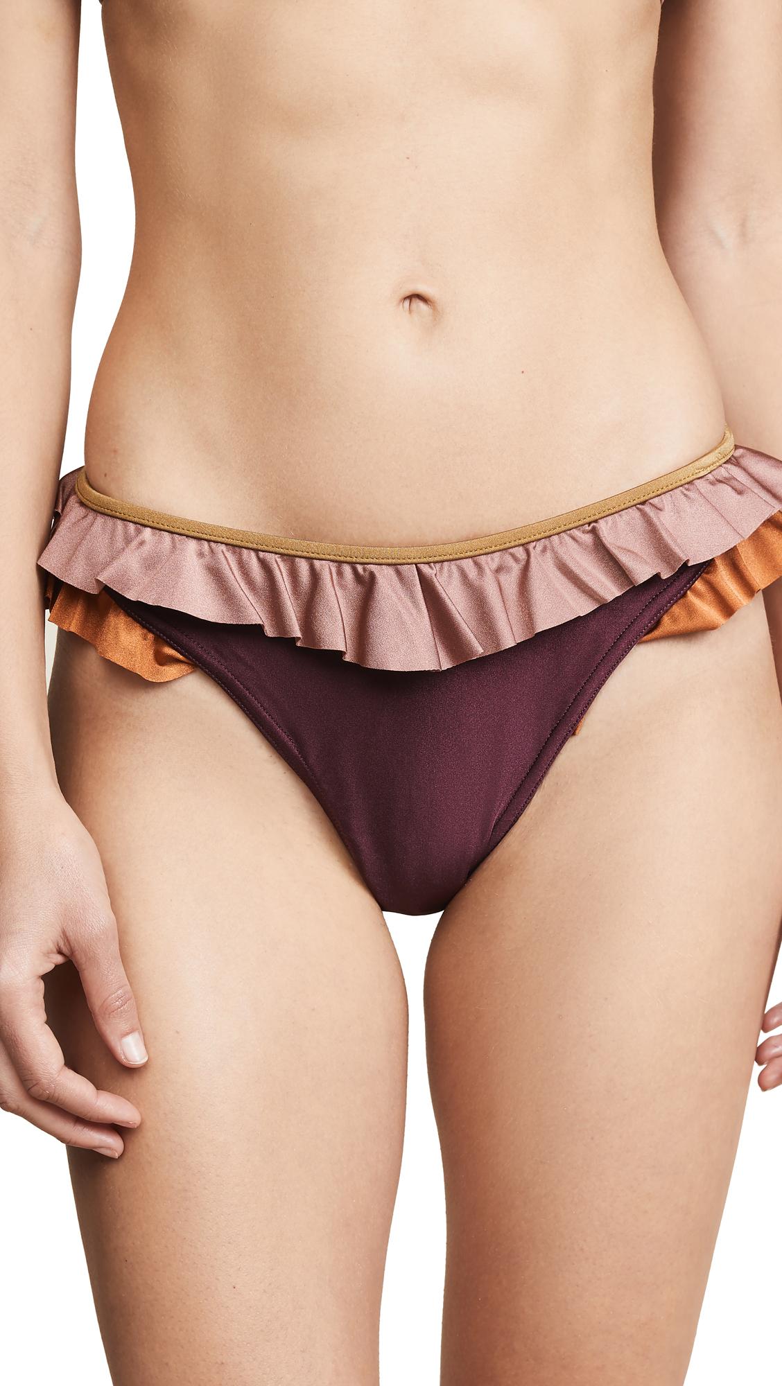 Zimmermann Juniper Frill V Pants - Spliced