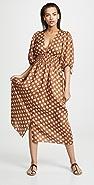Zimmermann Primrose 抽褶腰部长裙