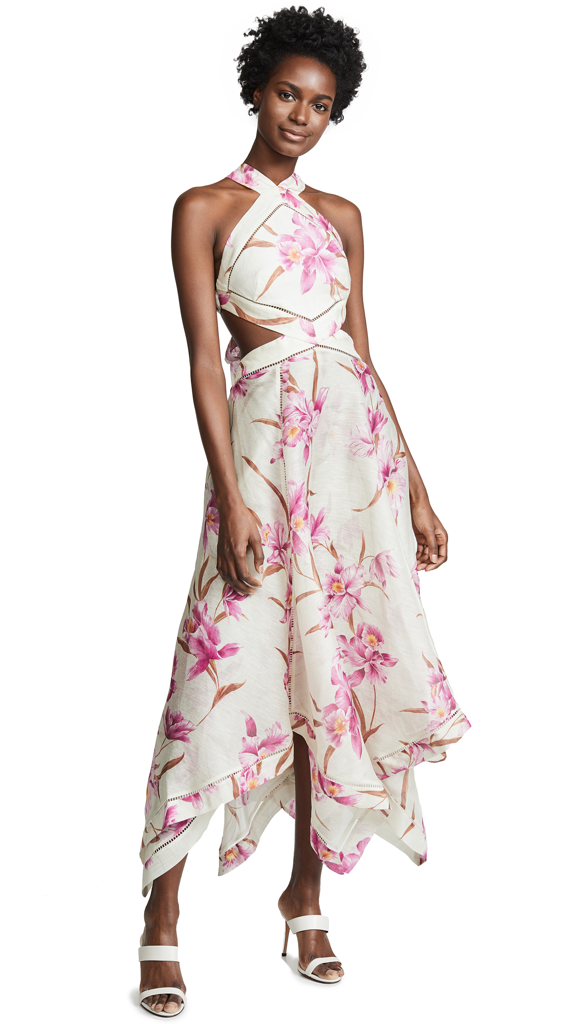 Buy Zimmermann online - photo of Zimmermann Corsage Scarf Dress