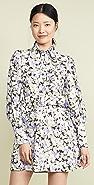 Zimmermann Ninety-Six Shirt Short Dress