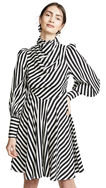 Photo of  Zimmermann Zippy Cowl Short Dress - shop Zimmermann dresses online sales