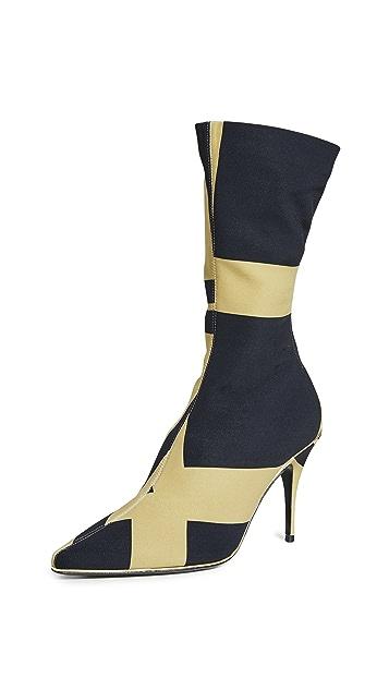 Zimmermann Mid Length Zip Lycra Boots