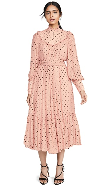 Photo of  Zimmermann Espionage Swing Yoke Dress - shop Zimmermann dresses online sales
