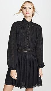 Zimmermann Плиссированное мини-платье Espionage