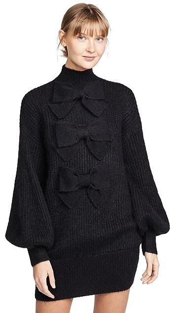 Zimmermann Resistance Mohair Bow Dress
