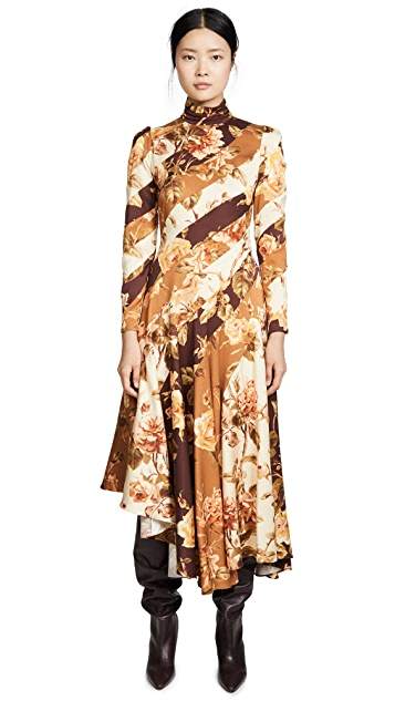 Zimmermann Resistance Spliced Dress