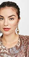 Zimmermann Link Drop Earrings