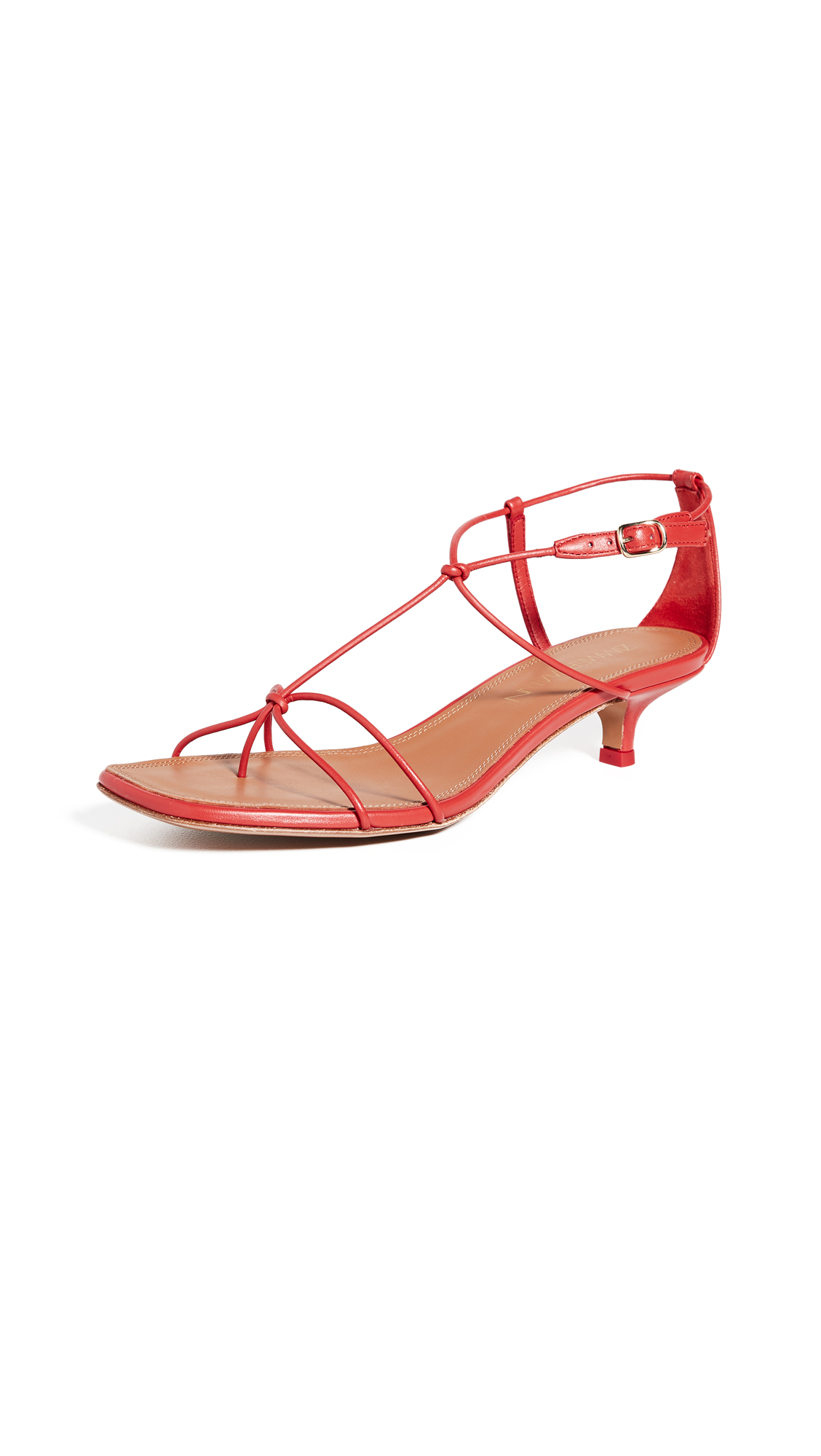 Zimmermann Strappy Kitten Heel Sandals - 60% Off Sale