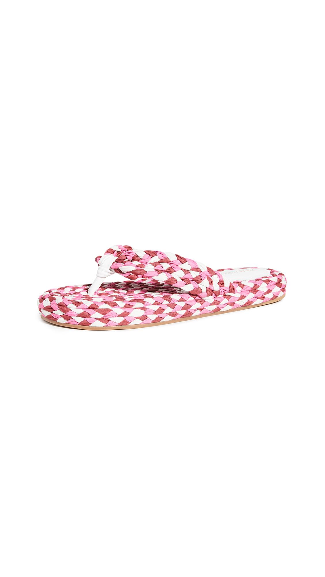 Zimmermann Cotton Braid Sandals - 60% Off Sale