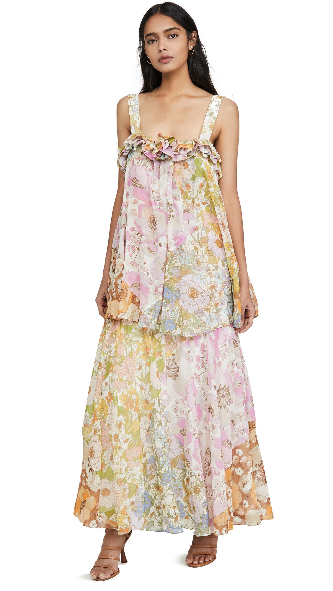 Buy Zimmermann Super Eight Maxi Dress online beautiful Zimmermann Dresses, Strapless