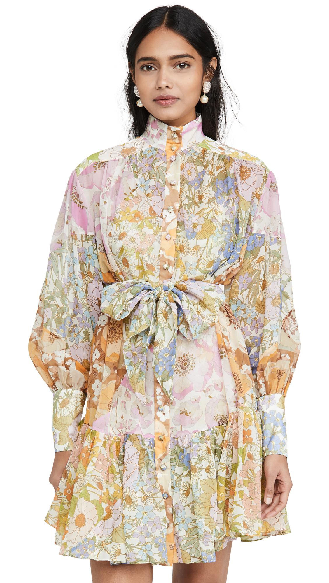 Buy Zimmermann Super Eight Lantern Mini online beautiful Zimmermann Clothing, Dresses